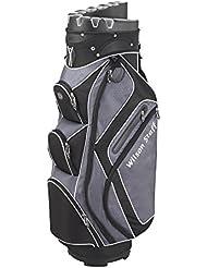 2015 Wilson Staff I-Lock Einkaufstasche Trolley Golftasche 15-Wege Teiler *Bügeleisen Sperr*