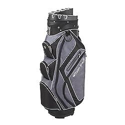 Wilson Staff Herren Golfbags W/S I Lock Cart Bag BLBL Schwarz, 40 x 40 x 90 cm, 1 Liter