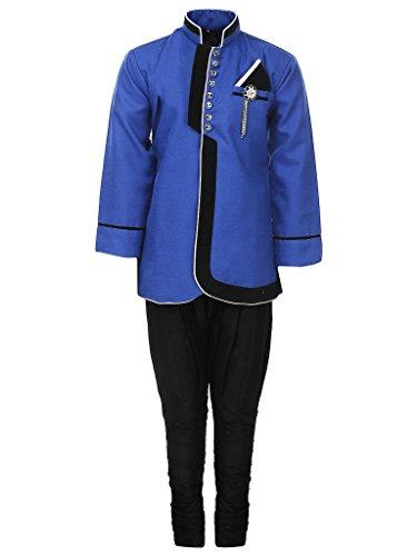 AJ Dezines Kids Party Wear Suit Set for Boys (644_BLUE_10)