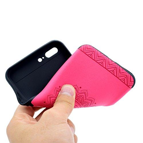 """inShang Hülle für iPhone 6 Plus iPhone 6S Plus 5.5"""" , Ultra Schlank und leicht TPU Bequem Schutzhülle Rückcover (Back Case) design für Handy iPhone 6+ iPhone 6S+ 5.5 inch, Rose printing"""