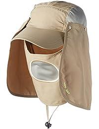 Vococal - Cappelli alla Pescatora Tesa Larga di UPF 50 + Sole Protezione    Cappuccio del e0fa8f3694ea