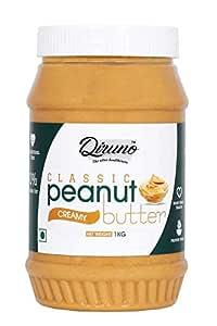 Diruno Classic Peanut Butter Creamy 1Kg (Gluten Free, Non-GMO)