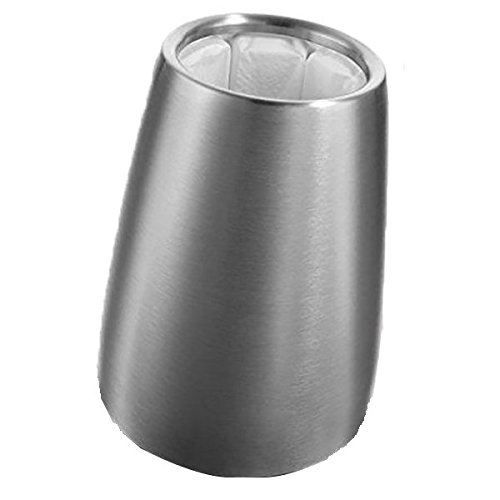 Aktiv Weinkühler Elegant Edelstahl (Wasser-flasche-etikett)