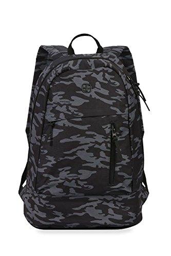 Best swiss gear bags in India 2020 Swiss Gear 20 Ltrs Grey Camo/Black Laptop Backpack (2728440417) Image 2