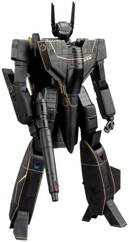 Macross 25th Anniversary Yamato 1/48 Scale Transformable VF1S Black Version (japan import)