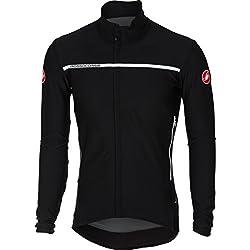 Кастелли Велоспорт Джерси с длинным рукавом 2018 Perfetto Светло-черный (Xl, черный)