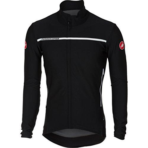 Castelli–Perfetto Long Sleeve–Camiseta de ciclismo para hombre, color negro, tamaño large
