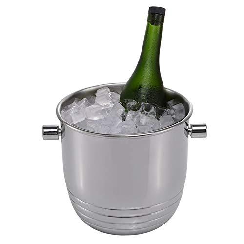 BB.er Bar ktv Edelstahl EIS Eimer Luxus Champagner Rotwein EIS Eimer Mode Boutique Bier getränkefass (Luxus-eis-eimer)