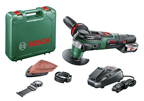 Bosch Akku Multifunktionswerkzeug AdvancedMulti 18 (1 Akku, 18 Volt System, im Koffer)