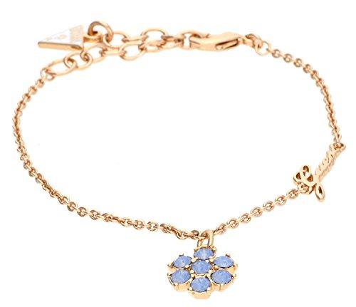guess-damen-armband-california-sunlight-mit-anhanger-edelstahl-teilvergoldet-kristall-blau-19-cm-ubb