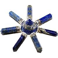 Humunize 7 Punkte Lapis Stein Reiki-Energie-Generator Pyramide Stein Spirituell Kristalltherapie Feng Shui Geschenk... preisvergleich bei billige-tabletten.eu