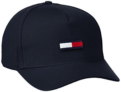 hilfiger-denim-thdm-flag-cap-11-casquette-de-baseball-homme-bleu-black-iris-taille-unique-taille-fab