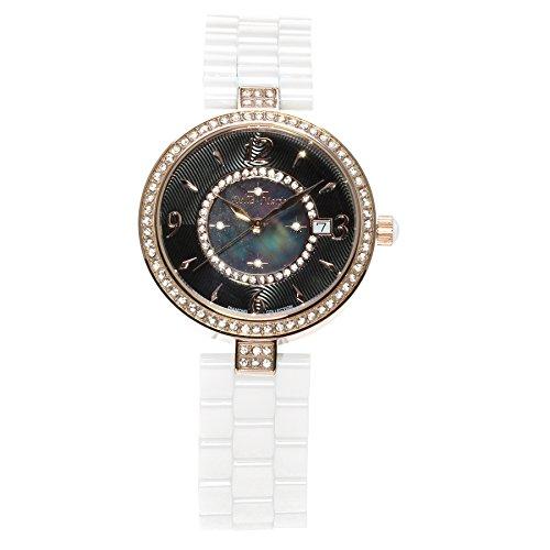 Stella Maris STM15SM9 - Orologio da polso analogico al Quarzo Donna - Cinturino Ceramica Premium Quadrante madreperla Diamanti e elementi Swarovski