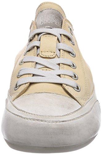 Candice Cooper Rock.tamponato, Sneakers Basses Femme Beige