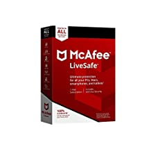 MCAFEE LIVESAFE 2018 UNLIMITED DEVICE