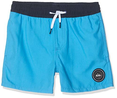 Quiksilver Kinder Jungen-bademode (Quiksilver Jungen Glitch 13 Zoll Jam/Volley, Malibu Blue, S/10)
