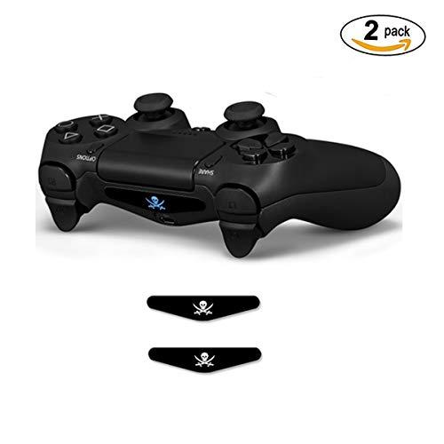 Custom Game Light Bar Vinyl Aufkleber Aufkleber Led Lightbar Cover für Sony Playstation 4 PS4 Konsole Skins (Unkraut) Pirat ()
