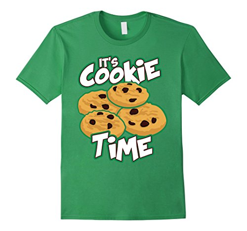 scout-shirt-its-cookie-time-cookies-gift-for-girls-t-shirt-herren-grosse-2xl-grun