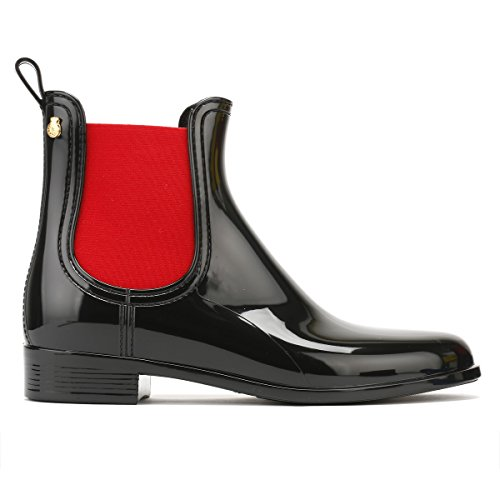 Lemon Jelly Damen Pisa Chelsea Boots Schwarz (Black)