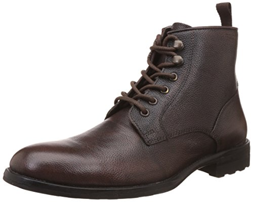 Red Tape Men's Brown Leather Boots - 8 UK/India (42...