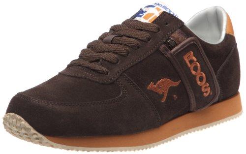 Kangaroos - Sneaker Combat, Uomo, Marrone (Braun (Marron (Chocolate/Cognac))), 45