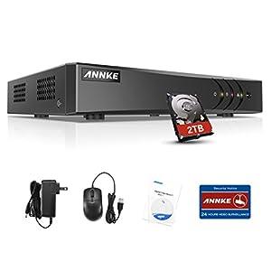 dvr 16 camaras: SANNCE Grabador 16CH 1080N DVR (P2P Network Onvif Grabador de Video Digital Andr...