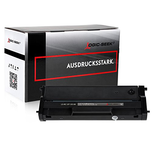 Preisvergleich Produktbild Logic-Seek Toner kompatibel zu Ricoh SP 150 Type-150 HC für Ricoh SP 150suw, SP 150w, SP 150su, SP 150 - Schwarz 1.500 Seiten