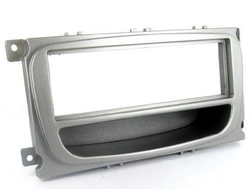 t1-audio-t1-24fd26-facia-plate-ford-focus-mondeo-2007-with-pocket-silver