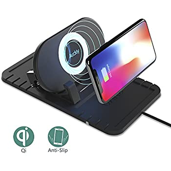 Magnetic car mount wireless charging iphone x 17