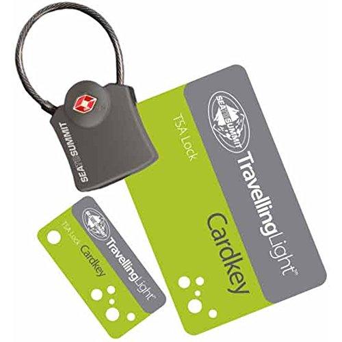 Sea To Summit TSA Travel Lock Cardkey - Gepäck Vorhängeschloss