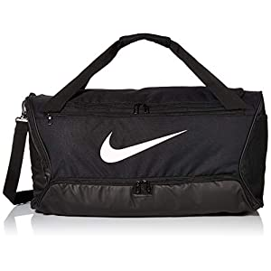 Nike Brasilia Training Medium Duffle Bag, Durable Nike Duffle Bag für Damen & Herren mit verstellbarem Riemen