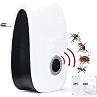 Fulminare Ultrasonic Pest Repellent Machine to Repel Lizard Rats Cockroach Mosquito Home Pest & Rodent Repelling Aid for…