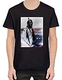 Galaxy Indian Chief Camiseta Hombres Mujeres