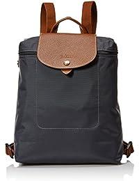 Longchamp - Bolso mochila  para mujer gris