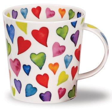 Dunoon tasse en porcelaine Motif cœurs avec chaud Design en forme de Cairngorm