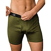 WoolX Men's Dailys, Moss Heather, XX-Large