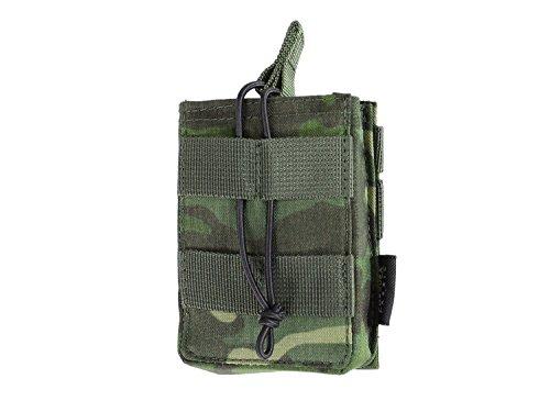 BE-X Offene Magazintasche für CQB, für MOLLE, für 1 G3/M14 Magazin - multicam tropic