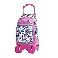 Zaino scuola per bambini con ruote per bambini di SKPAT  SKPAT  pensa anche ai bambini in casa, creando una collezione di borse per la scuola e accessori per loro e loro.  SKPAT  è un riferimento al design giovane e audace.  Questo zaino da ...