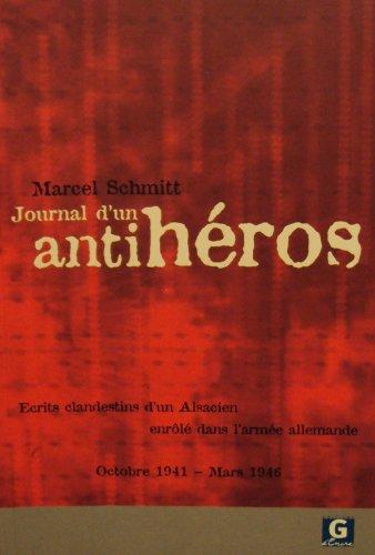Journal d'un Antiheros