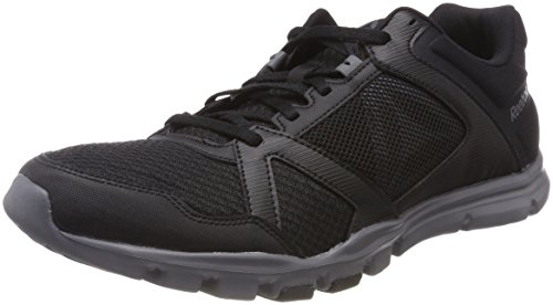 Reebok Yourflex Train 10 MT, Chaussures de Fitness Homme Noir (Black/Alloy)