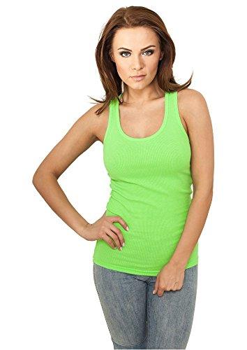 TB695 Ladies Neon Tanktop Neongreen