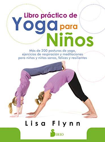 Libro práctico de yoga para niños por Lisa Flynn