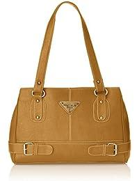 Fostelo Women's Swiss Shoulder Bag (Beige) (FSB-380)