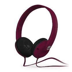 Skullcandy Uprock S5URDY-236 On-Ear Headphone with Mic (Plum)