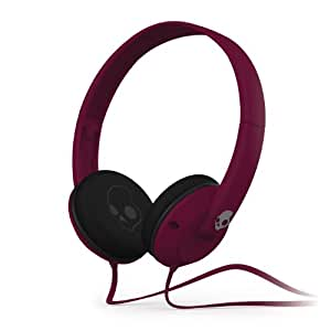 Skullcandy Uprock 2.0 On-Ear Headphones with Mic - Plum