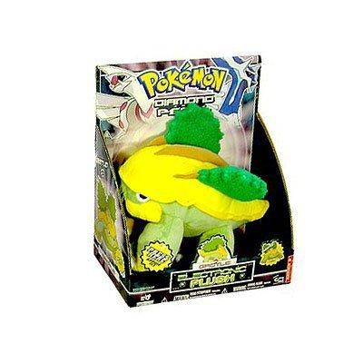 Pokemon Diamond and Peal - Eletronic Plush - Grotle