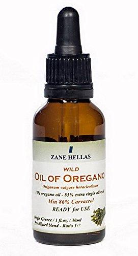 Super 15. El aceite de orégano. 2 oz-60ml. MEZCLA DILUIDA-PRE. Listo para su uso. Pure griega Aceite de orégano aceite. 15% Aceite de Orégano - 85% de Aceite de Oliva Virgen Extra