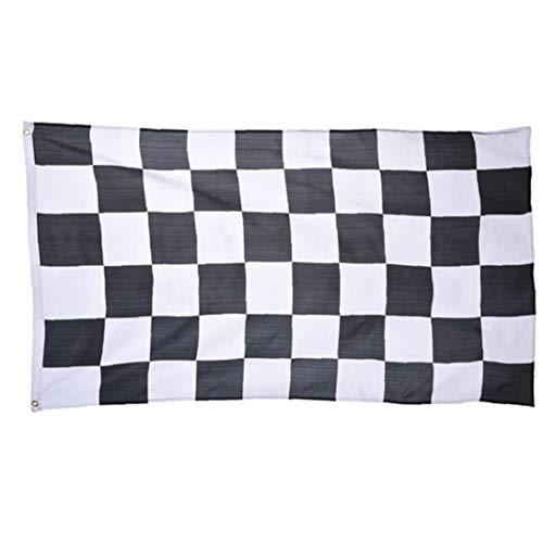 Flag Racing Flag Banner gedruckt Polyester Plaid-Flagge mit Messingösen ()