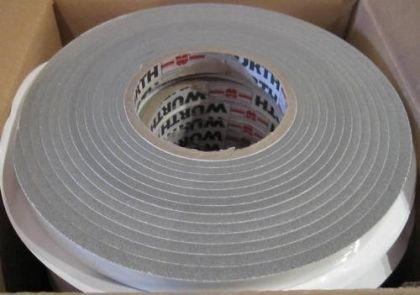 Fensterband Kompriband Dichtband Fugenband Quellband 4,3lfm DIBA15/8 GRAU