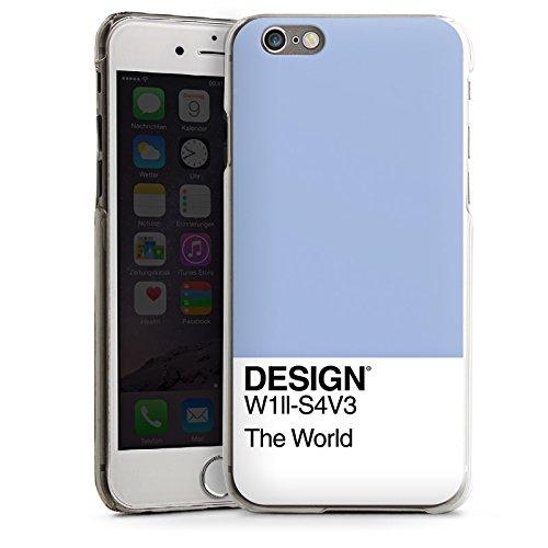 Apple iPhone 5 Housse Outdoor Étui militaire Coque Pantone Pastel Bleu CasDur transparent